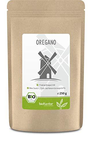 Oregano BIO gerebelt und getrocknet 250g - Gewürz Origanum vulgare - 100% naturrein ohne Zusätze - aus kontrolliert biologischem Anbau von bioKontor