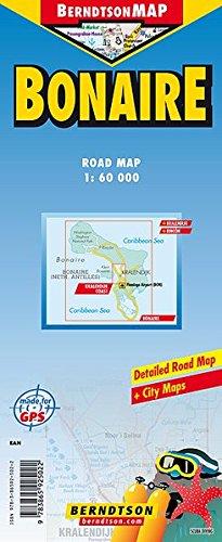 Wegenkaart Bonaire: 1:60000