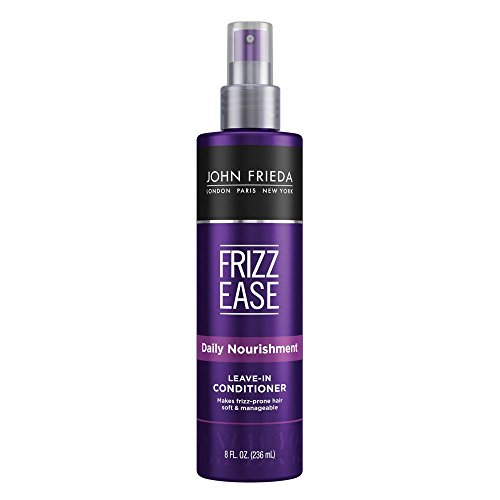 John Frieda Frizz Ease Daily Nourishment Conditioner, 8 Ounce Leave-in Conditioner for Frizz-prone Hair, with Vitamin A, C, and E (11701)