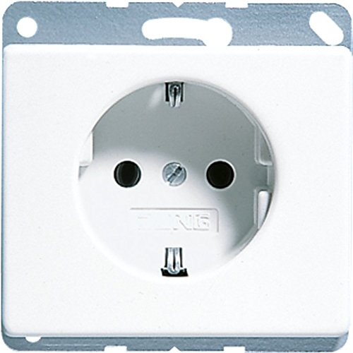 Jung SL520WW Schuko-stopcontact, wit