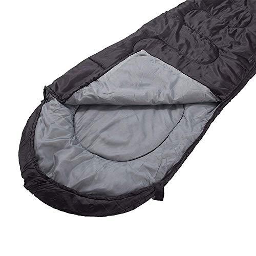FKB@ED Saco de dormir para adultos, 3-4 Temporada Saco de dormir para acampar Cojines ligeros empalmados ligeros Saco de dormir con saco de compresión Equipo ideal para excursionismo
