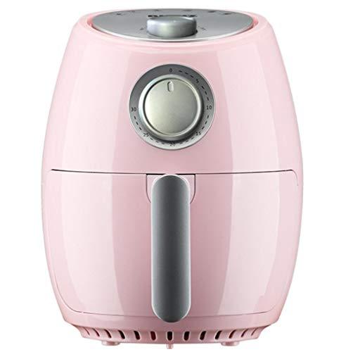 Friteuse à air de 3,2 L avec affichage numérique, minuterie et contrôle de température entièrement réglable pour une cuisson saine sans huile et faible en gras-Machines roses