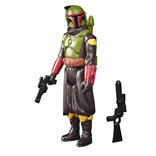 Star Wars Retro Collection Boba Fett (Morak) Toy 3.75-Inch-Scale The Mandalorian Collectible Action...