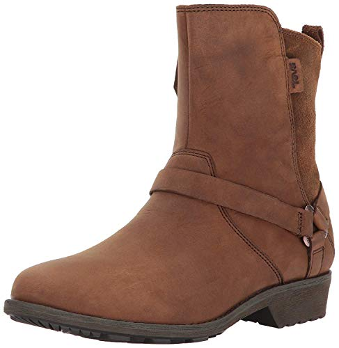 Teva Damen Delavina DOS W's Chelsea Boots, Braun (Bison), 36 EU