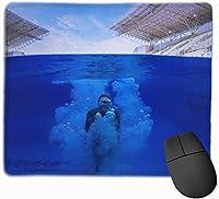 マウスパッド ゲーミングマウスパット マリア 高級感 最適 高級感 おしゃれ 防水 耐久性が良い 滑り止めゴム底 ゲーミングなど適用 マウスの精密度を上がる 疲労軽減 作業 マウスパット ( 25*30 Cm )
