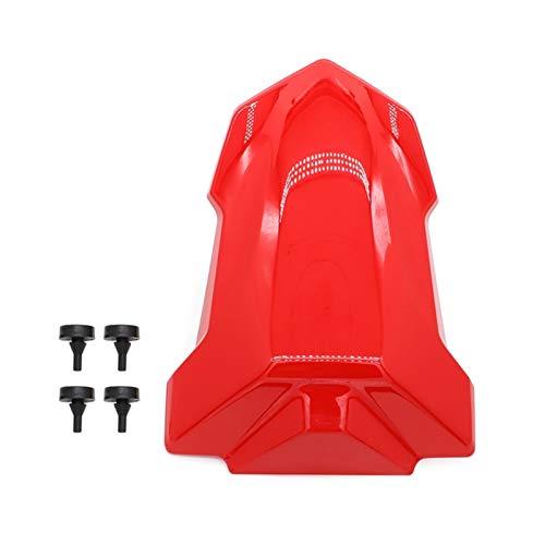 Cubierta de asiento trasero para motocicleta para BMW S1000RR S1000R 2019 2020 S 1000 RR Injetion Tail Cover carenado rojo (color: rojo)