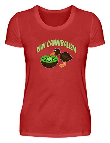 SPIRITSHIRTSHOP Kiwi Cannibalism - kiwivruchten en kiwivogel - damesshirt