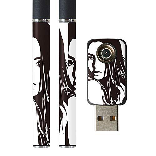 igsticker プルームテック Ploom TECH 専用スキンシール バッテリー スティック USB充電器 カバー ケース 保護 フィルム ステッカー スマコレ 011499 おしゃれ 女性 セクシー