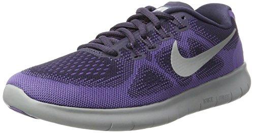 Nike Free RN 2017 Dark Raisin/Pure Platinum/Purple Earth Women's Running Shoes (5.5 M US)