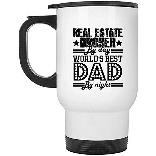 Zudrold Immobilienmakler Job Travel Mug, Reise-Kaffeetassen (weiße Tasse)
