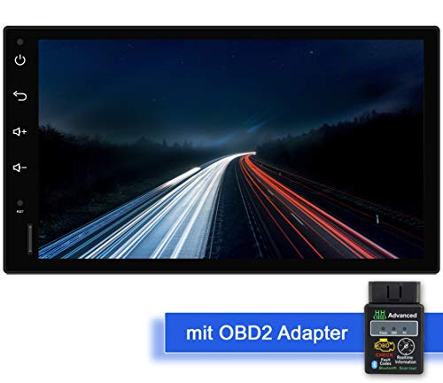 Tristan Auron BT2D7018A Android 10 Autoradio mit Navi + OBD 2 Adapter I 7