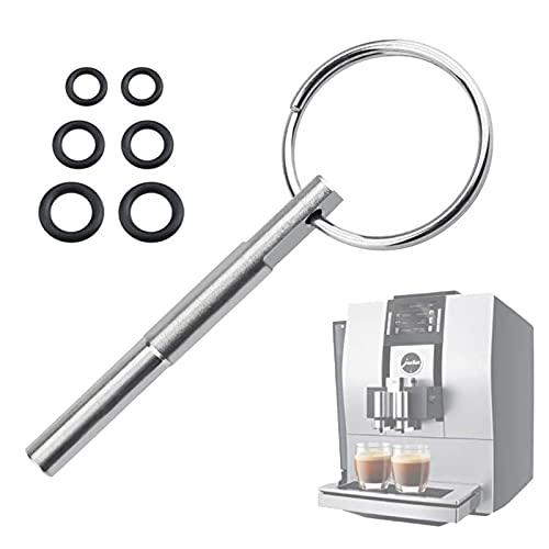 Schraubenschlüssel Für Das Kaffeemaschinen Ovalkopfschlüssel Mit Schlüsselring Ovalkopfbit Ovalbit Reparatur Werkzeug Kompatibel Mit Jura/Krups Siziliana/Aeg Kaffeeautomaten (Um Schrauben Entfernen)