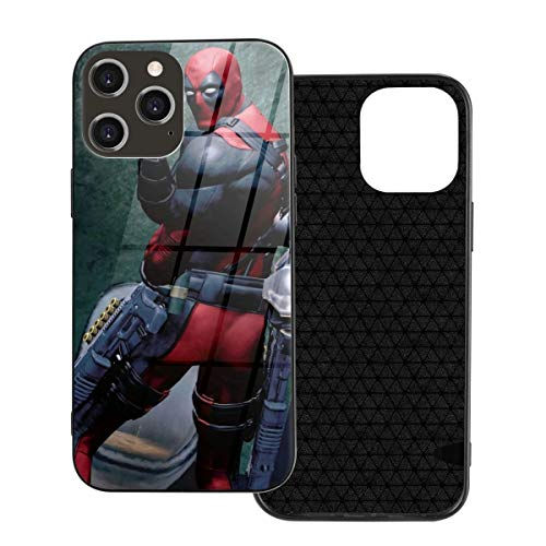 Dead-Pool for iPhone 12 /12Mini / Pro/Pro Max Case Shockproof Protection Cover,which is Stylish and TPU Plastic Case Cover,Built-in Screen Protector Cover Iphone12-6.1