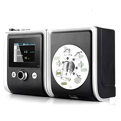 Huapa BMC GII AutoSet C-P-A-P Máquina con Máscara Nasal Humidificador Correa para Dormir Bolsa De Filtro De Aparato Respiratorio con 8G Tarjeta SD Gratuita para Casa Usar