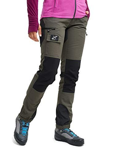 RevolutionRace Damen Nordwand Pants, Hose zum Wandern und für viele Outdoor-Aktivitäten, Mossgrey, 40
