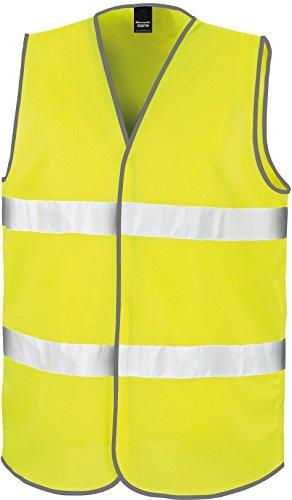 Result Motorist Safety Vest, Fluorescent Yellow, S/M