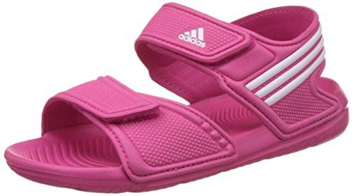 adidas Performance Unisex-Kinder Akwah 9 K Dusch- & Badeschuhe, Pink (EQT Pink S16/Ftwr White/FTWR White), 31 EU
