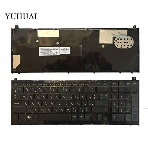 Laptop keyboard, Russian keyboard For HP probook 4520 4520S 4525S 4525 with Black Frame RU Laptop Keyboard