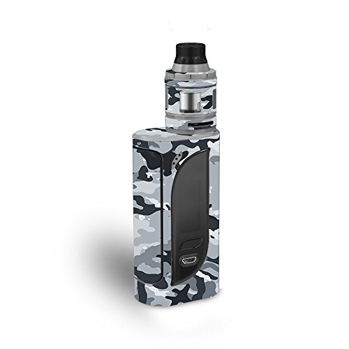 MightySkins Skin Compatible with Eleaf iKonn 220 - Gray Camouflage | Protective, Durable, and Unique Vinyl Decal wrap Cover | Easy to Apply, Remove, and Change Styles | Made in The USA