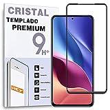 Protector de Pantalla Curvo para XIAOMI REDMI K40 - Poco F3 - Mi 11i, Negro, Cristal Vidrio Templado Premium, 3D / 4D / 5D, Anti Roturas