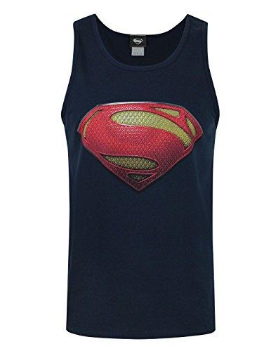 DC Comics Hombres Man Of Steel - Tank Top (S)