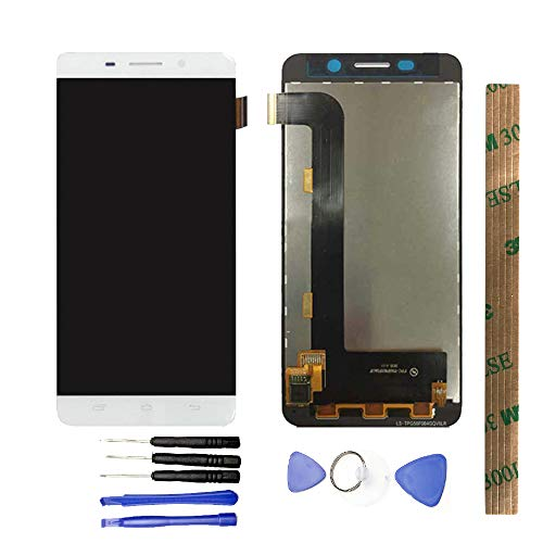JayTong 修理と交換液晶ディスプレイガラス修理液晶デジタイザパネル 修理工具セット付き Ulefone Metal Lite 白い