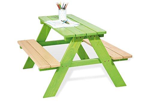 Pinolino Pique-Nique-Table 'Nicki pour 4 - Vert