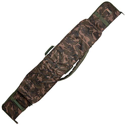 Fox Camolite 10ft 2 + 2 rod case 166x25x21cm - Rutentasche für Karpfenruten, Angeltasche für Angelruten, Rutenfutteral für Ruten