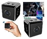 Toolzy 101915 Mini cámara Full HD 1080p Wifi Wifi Cámara de Vigilancia Nocturna Detección de Movimiento Cámara...