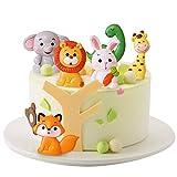 Decoracion para Tartas Infantiles CHEPL 6 Piezas Toppers par