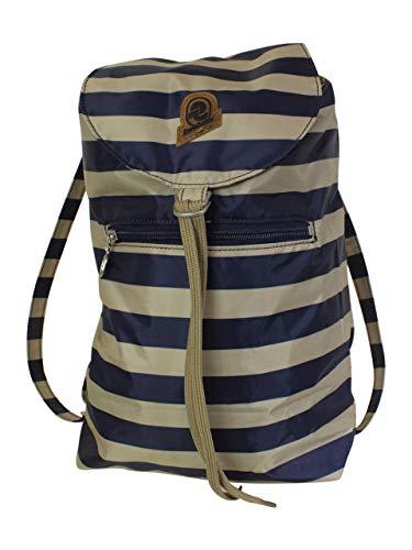 Invicta Minisac-Heritage Mood Indigo/Beige Convertible Backpack Bag