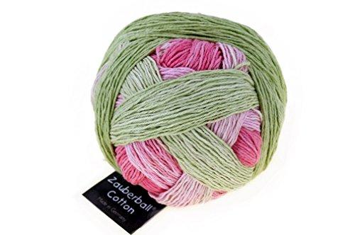 Schoppel Zauberball Cotton Rosige Zeiten 2340 Baumwollgarn mit Farbverlauf zum Stricken und Häkeln