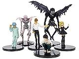 CosplayStudio Death Note - Juego de figuras de Lawliet, Light Yagami, Ryuk, Rem, Misa Amane, Near