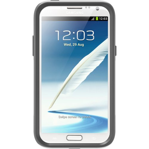 OtterBox Commuter Series Case for Samsung Galaxy Note 2 - White/Gray
