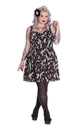 Hell Bunny Plus Size Zombie Pin Up Dress