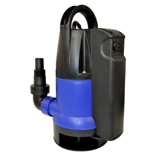 Schmutzwasser Tauchpumpe Dirt-Star-Extra-SS 750 Gartenpumpe REGENFASSPUMPE zum Bewässern und als Kellerpumpe - zum Entwässern mit integriertem Schwimmerschalter RegentonnenPumpe Regenwasser Pumpe Pumpe Drainagepumpe Schachtpumpe