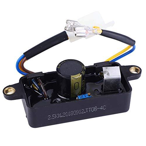 iFCOW Generator Auto Spannungsregler Universal AVR für 1-3Kw Generator 250V 220Uf