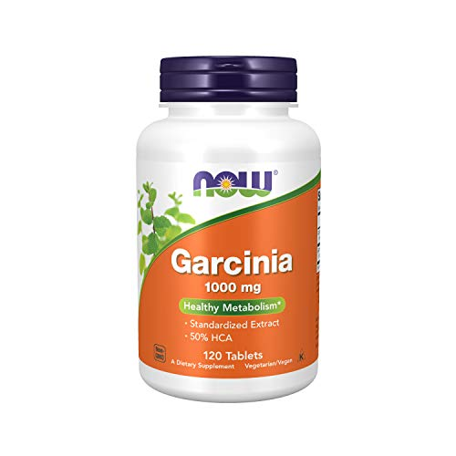 NOW Supplements, Garcinia (Garcinia Cambogia) 1000 mg, 120 Tablets