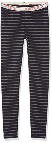 Scotch & Soda R´Belle Mädchen Legging in Lurex Quality Hose, Mehrfarbig (Combo A 217), 116