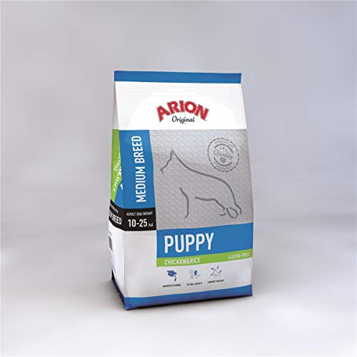 Arion Puppy Medium Chicken & Rice Comida para Perros - 12000 gr