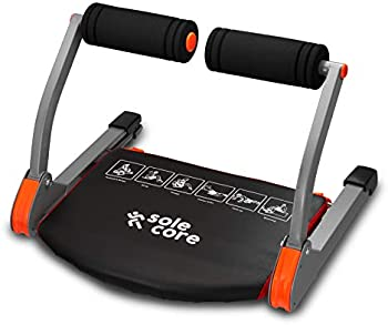 SoleCore Smart Fitness Equipment 6-in-1 Ab Sculpting System