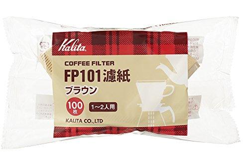 カリタ Kalita カリタ コーヒーフィルター FP101コーヒーフィルター 1~2杯用 ブラウン×200枚:100枚×2袋