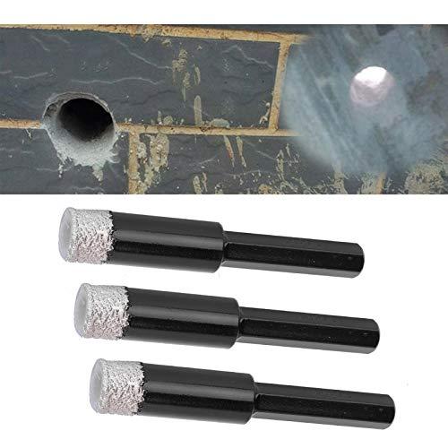 Dry Diamonds Drill, Diamonds Hole Saw Drill Bit, Bohrer, für verglaste Fliesen Quarzstein Granit polierte Fliesen