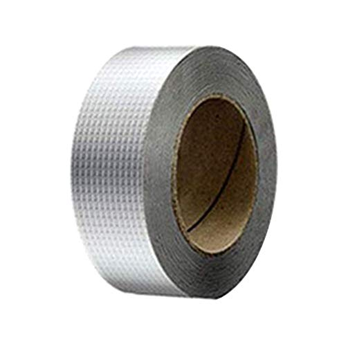 Gilroy Super Waterproof Tape, Outdoor Leak Repair Aluminum Butyl Tape, Leak Proof All Weather Patch for Pipe RV Awning Sail Roof Window Sealing S