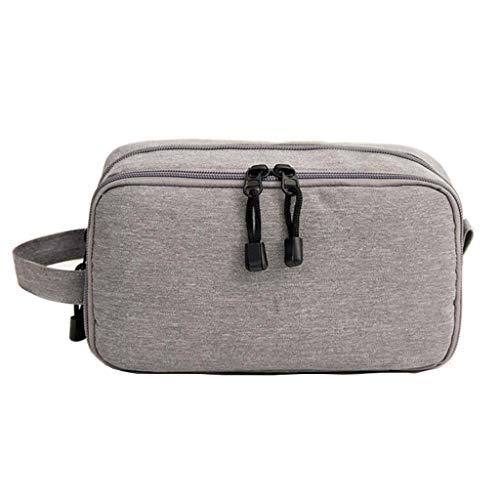 Trousse de toilette Étanche Cosmetic Bag Storage Grande Capacité Portable Multifonctionnel Simple Voyage Wash Universal 3 Couleur 22.5 * 9 * 12.5cm MUMUJIN (Color : Blue)