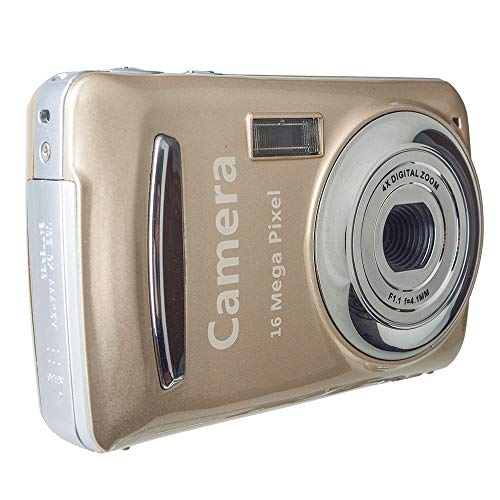 Haihuic Fotocamera Digitale da 16 MP Macchina Fotografica Videocamera HD per Sport, Viaggi, Regalo per Bambini, Studenti, Principianti, Famiglia