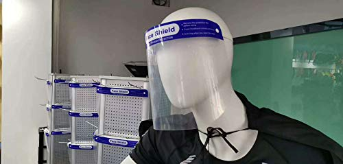 Anti-fog mask transparentPETplastic factory direct supply of individually wrapped protective mask