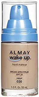 Almay Wake-Up Liquid Makeup, Naked-030 (Pack of 2)