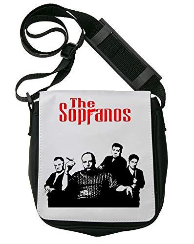 The Sopranos Gandolfini Poster Schultertasche Herren Umhängetaschen Damen Taschen Unisex Shoulder Bag