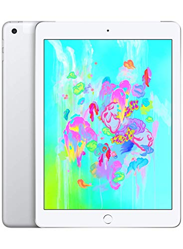 Apple iPad (9,7', Wi-Fi + Cellular, 128GB) - Argento (Modello Precedente)